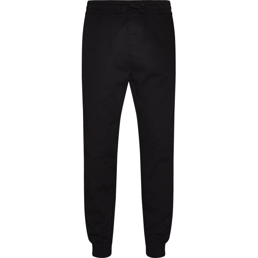 MADISON JOGGER I020079 - Madison Jogger - Bukser - Regular - BLACK RINSED - 1